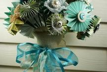Wedding - Flowers / Seem's like an nice and easy thing to save money on, here are some ideas for making my own wedding bouquet / by scaryg
