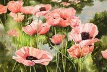 WATER COLORS & OIL PAINTINGS / by Alfred Ina