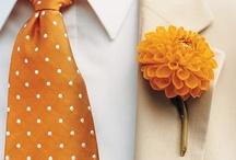 Orange wedding inspiration / by Debbie Whipple