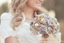 Wedding- Brides Bouquets, Boutonnieres and Corsages / For all those who love Brooch Bouquets and other alternatives to Fresh Flower Bouquets! / by Debbie Whipple