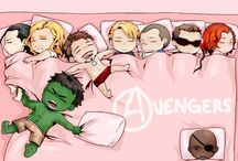 AVENGERS! / The Avengers and other superhero related stuff   / by Ashley Atkinson