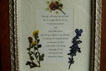 Pressed Flower Art / by Gina's Craft Corner