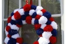 Wreaths / by Gina's Craft Corner