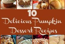 Fall Recipes / by Gina's Craft Corner