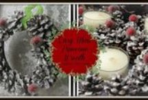 Christmas decorations / by Gina's Craft Corner