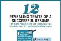 Resumes & Cover Letters / These pins give great tips and tricks to improve your marketing material for your professional brand!  / by Wilson Career