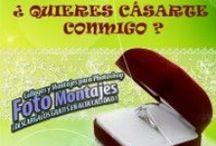 Bodas y Enlaces Matrimoniales. / Las mejores plantillas para tu boda o enlace matrimonial / by Fotoefectos Efectos para Fotos