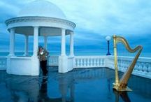 Musica veharpah / Beauty of music, especialy harp / by Lisa Blinder