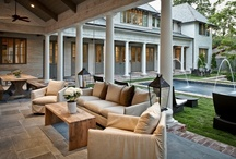 Outside Rooms | Porches / by Boxwood Gardens & Interiors