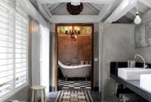 Guest Bathrooms / by Boxwood Gardens & Interiors