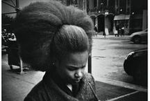 her hair is growing / my hair is my art / by Your Grandmother Is Black