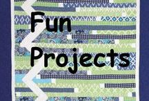 Fun Projects / by Quilters Club of America