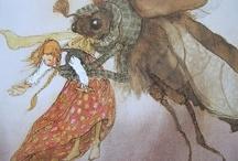 Arthur Rackham and other children's book illustrations / by Jodi Henninger