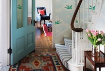 Wallpaper Minded / a collection of my favorite ways to use and install wallpaper / by Christiana Coop