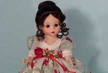 """Madame Alexander 8"""" Dolls / Madame Alexander Dolls - Mostly 8"""" / by JUDITH"""