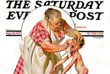 Norman Rockwell / Self explanitory.....  * I review my boards frequently, eliminating duplicates or items that no longer interest me and pining new treasures as I encounter them.*  / by AgnesEthel QuiltPox