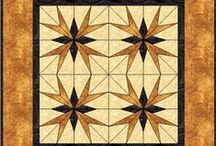 Quilts: Paper-Pieced Quilts / Paper Piecing technique is fast and fun, if you can count, you can paper piece.  ~ * I review my boards frequently, eliminating duplicates or items that no longer interest me and pining new treasures as I encounter them.*  / by AgnesEthel QuiltPox
