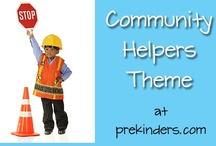 Teaching - COMMUNITY HELPERS / by Shelley Taft