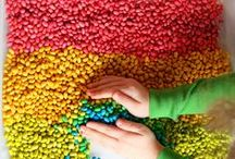 Colourful play / Colourful play for kids! Exploring colours, colour mixing, colour hues and rainbows. #color / by Danya Banya
