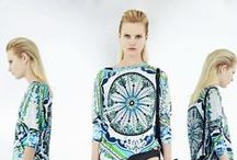 Emilio Pucci Spring 2014 Collection / Surf's up for Resort! For Emilio Pucci's next spring pre-collection, Creative Director Peter Dundas mines an easy beach vibe, infusing his collection of casual separates with vibrant color and a new, sporty edge. / by Emilio Pucci