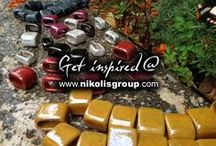 greek ceramic beads / by Nikolis Group