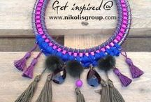 Fabulous jewellery! / see our unique creations containing a mix of different materials! / by Nikolis Group