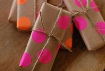 Creative gift-wrapping / by Makers on Pinterest