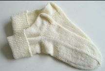 Knitted and Crochet Socks and Stockings / by Corrie Wittebrood
