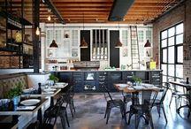 Cafe Design Ideas / by Karen Andrews Mansur