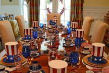 Tablescapes / Celebrate the season with the help of these unique and beautiful table decorations and designs / by Therese Scribner