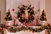 Christmas - Mantels / by Therese Scribner