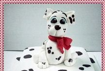 Cakes - 101 Dalmations / by Therese Scribner