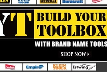 BYT: Build Your Toolbox / If you're constantly fumbling around your garage trying to find the right tools for the task at hand, then maybe it's time you shop Blain's Farm & Fleet. Here, determining how to build a toolbox that's right for you begins with quality name brand tools at an affordable price. Not only will you find the names you know and trust for dependable tools that last, you'll also be amazed by the prices! Let Blain's Farm & Fleet help you build your toolbox today. / by Blain's Farm & Fleet