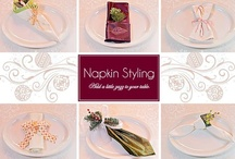 Placecards, Napkins/Rings / by Gwen Long