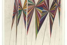 modern string or strip quilts / by Ruth Mendel