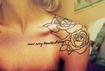 • Tattoos • / by Jenni