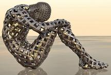 Art & Sculpture / I'm no art expert, I just like what I like / by Jeff Craig