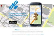 Clicktrack / #Clicktrack finds your nearby friends and keeps track of your family / by clickdrive