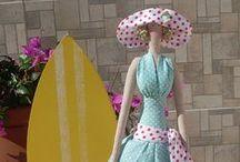 *TILDAS* y otras muñecas / Muñecas de tela / by Victoria Sanchez Garcia