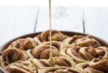 Cinnamon rolls, coffee cakes, sticky buns and more.... / by Emma Goodrum