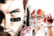 Tim Tebow: My Gator Guy / The man, the legend, the disciple, the inspiration... Tim Tebow! / by Megan Reneker
