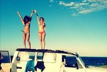 Girls just wanna have fun!  / by Alline da Costa