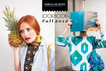 Lookbook Fall 2012 / Photo : Barrère et Simon - www.barrereandsimon.com / Make up : Isabelle Guyon / Styling : Anaïs Delcroix Models : Gwendoline Gauthier & Paul Quignon / by bureaudemode.com