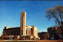 Madonna Della Strada Chapel / Sacramental Life serves to promote our Catholic Identity through liturgical worship, the celebration of the sacraments and in training students to be future leaders in the Church. / by Loyola University Chicago Campus Ministry