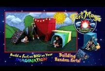 Fort Magic - Kids Building Forts! / Fun and Inspiring Videos of Kids Building with Fort Magic! / by Fort Magic