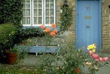 House & Garden Cottage English  / . / by Eliana V. Vega ♥.•:*´¨`*:•♥