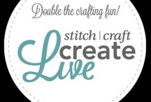 Stitch Craft Create Live 2013 Texas Sponsors  / We would like to thank all our sponsors that have donated time and effort to help make Stitch Craft Create Live possible.  / by Great American Scrapbook Conventions