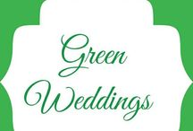 Green Weddings! / by Unique Design & Events Draping | Specialty Linens | ModernFurniture