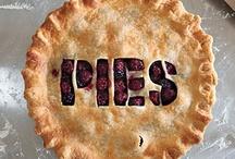 Food: Pie Hole / Pie, Tarts, Cheesecake, Crumbles, Slumps, Crisps, Strudel, Cobbler, etc. / by Christine Ulbrich