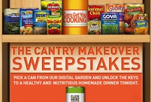 Cantry Makeover Sweepstakes Recipes / by Cans Get You Cooking